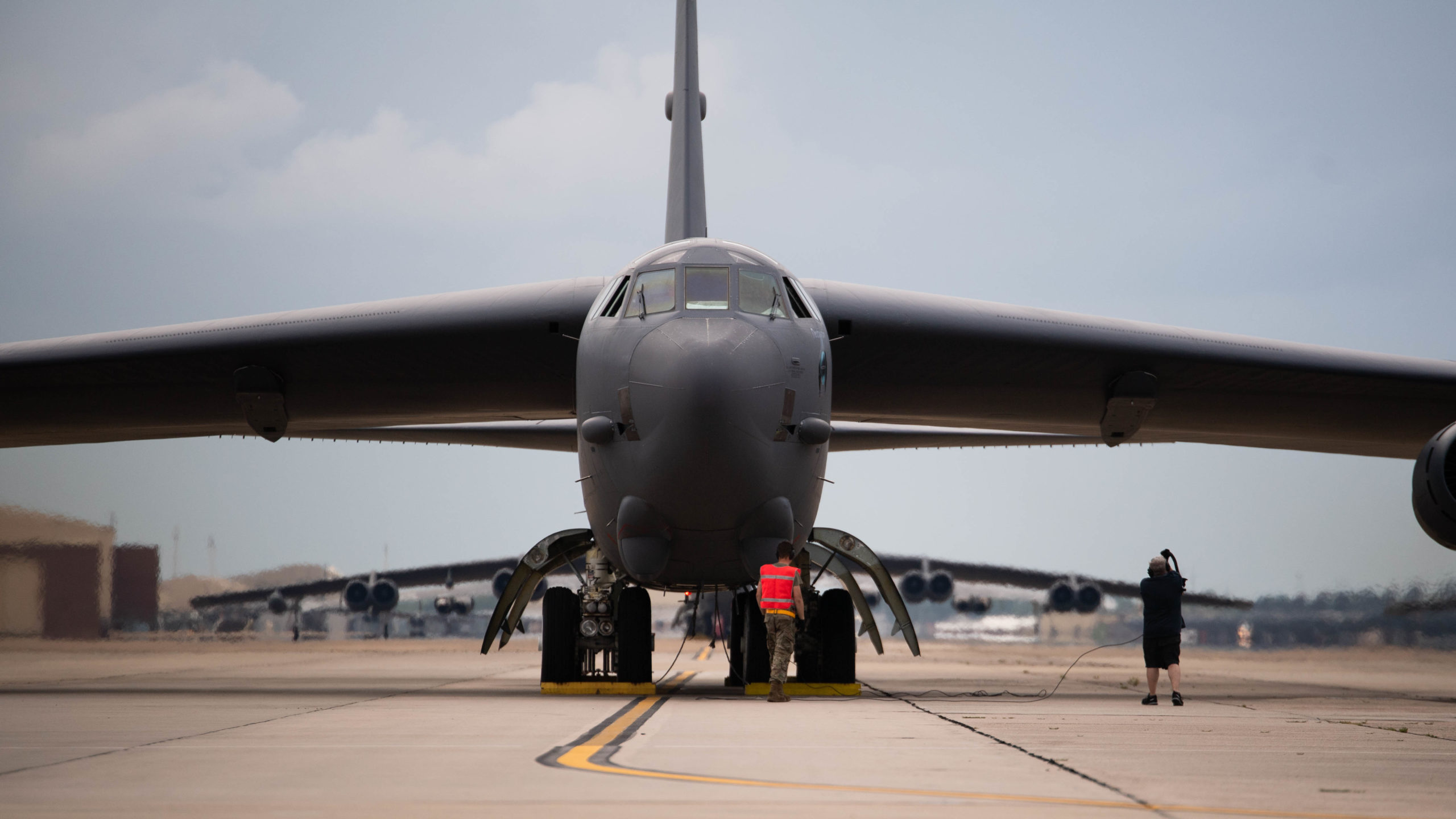 B-52s Simultaneously Operate in Europe, Middle East, and Indo-Pacific Theaters - Air Force Magazine