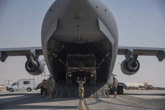 C-17s deliver cargo to support Afghanistan drawdown