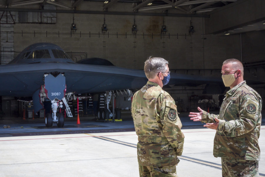 B-21 Flight Test Aircraft build progresses while B-21 Combined Test Force takes shape