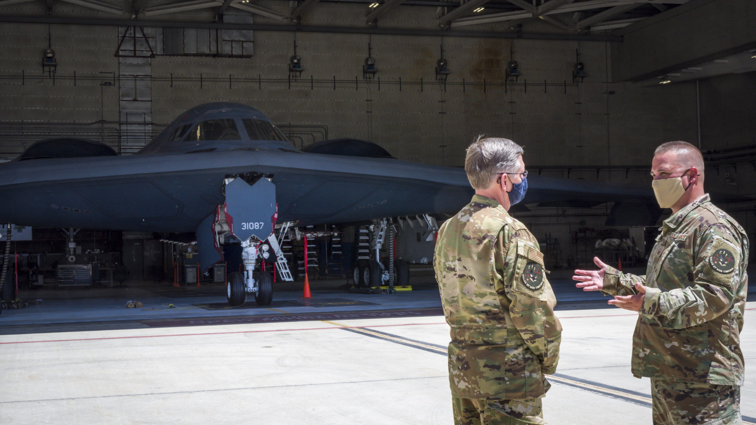 One Year From First Flight, Ray Tours B-21 Factory, Bomber Test Enterprise - Air Force Magazine
