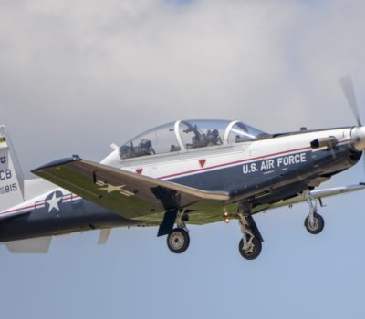 T-6A trainer aircraft
