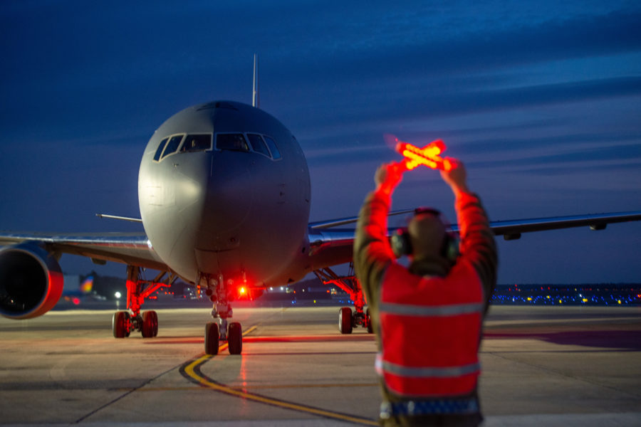 Pease receives 11th KC-46