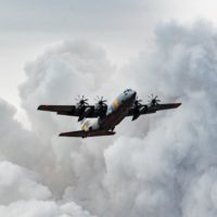 air force firefighting c-130