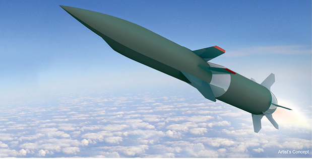 hypersonic missile
